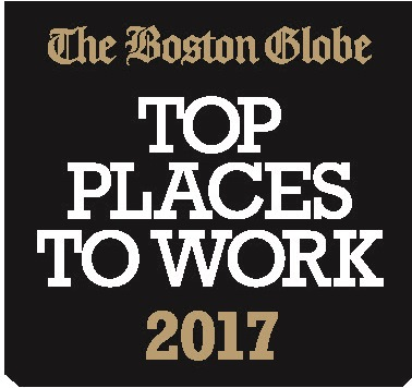 JRI was named one of the top places to work by the Boston Globe in 2015, 2016 and 2017