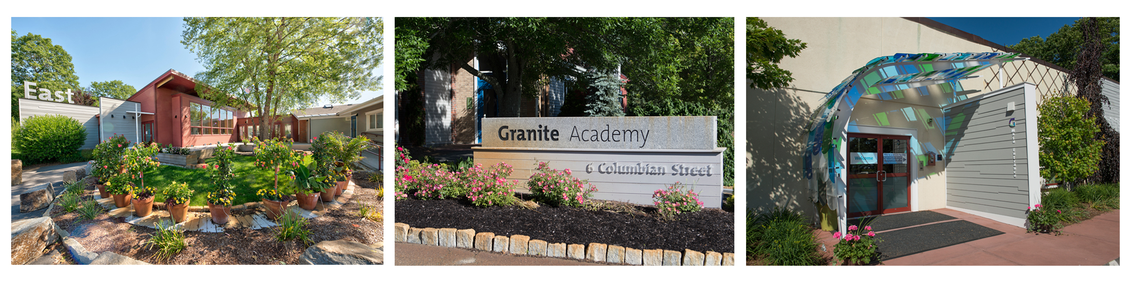 Granite Academy outside