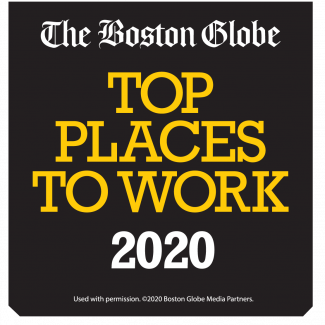 Top Places to Work 2020 logo