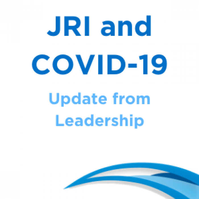 JRI and COVID-19 graphic