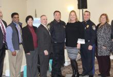 Police Chiefs, Superintendents, and DCF employee from Fall River, New Bedford, Taunton and Attleboro