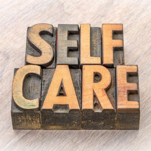 self care block words